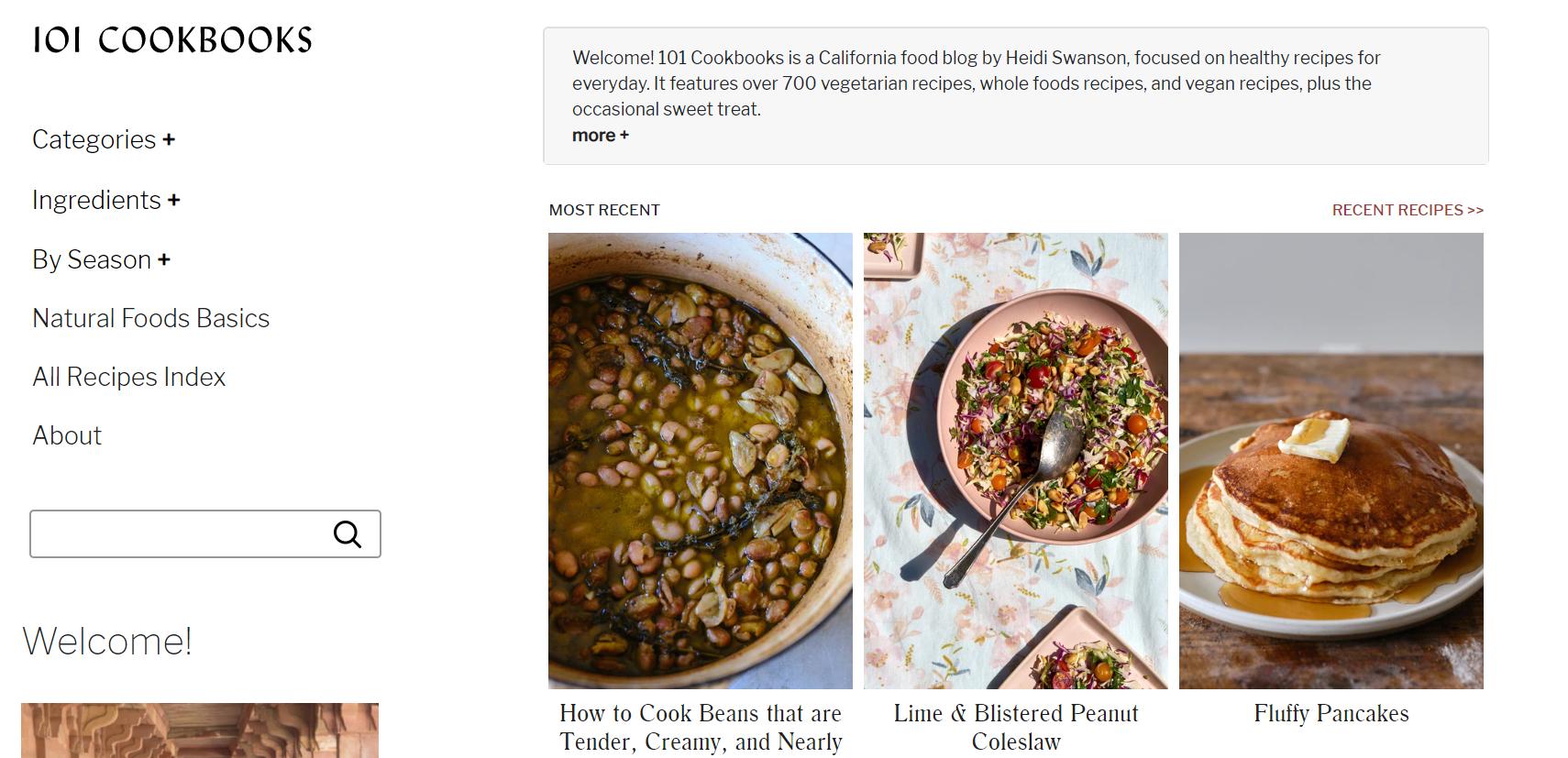 101 cookbooks