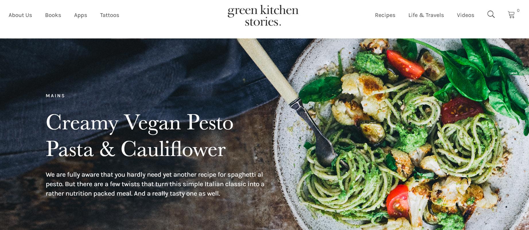 a green kitchen stories