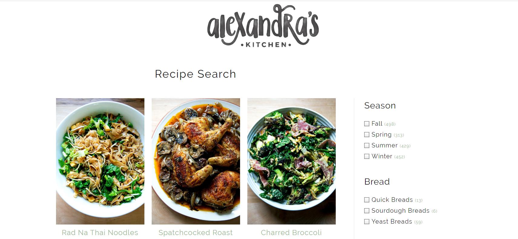 alexandras kitchen