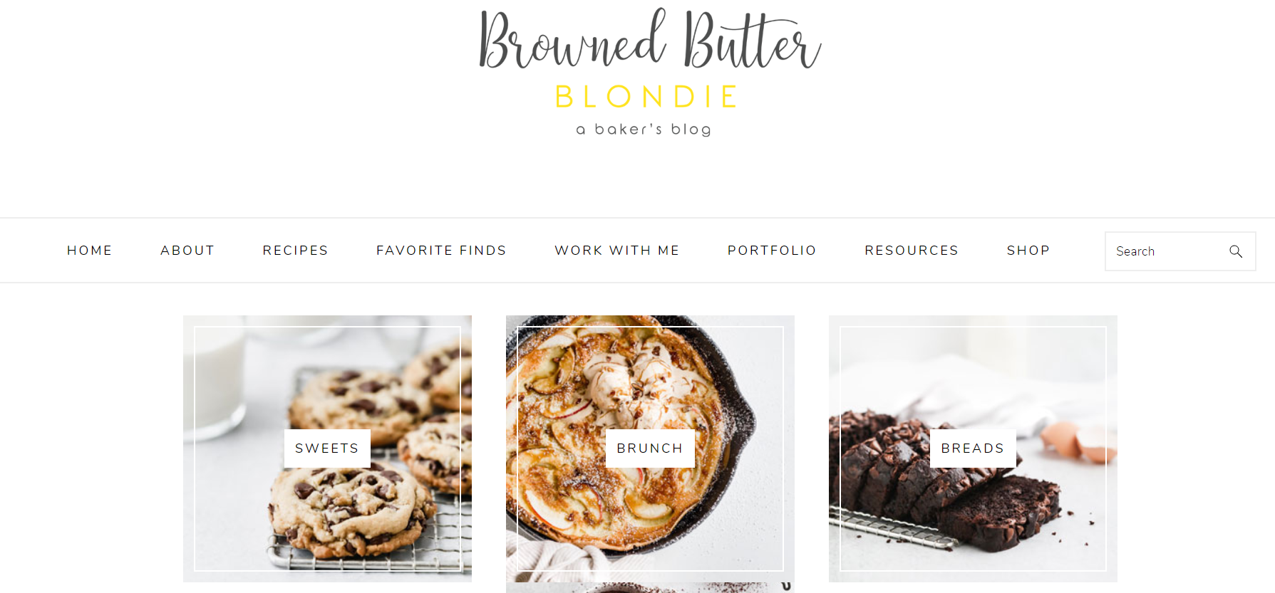 browned butter blondie