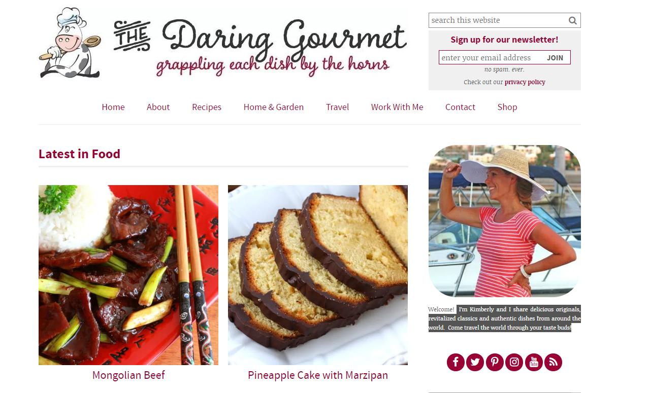 daring gourmet